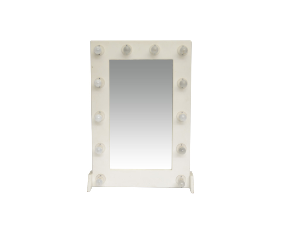 Velk hiring make up mirrors specialised hiring services for Small stand up mirror